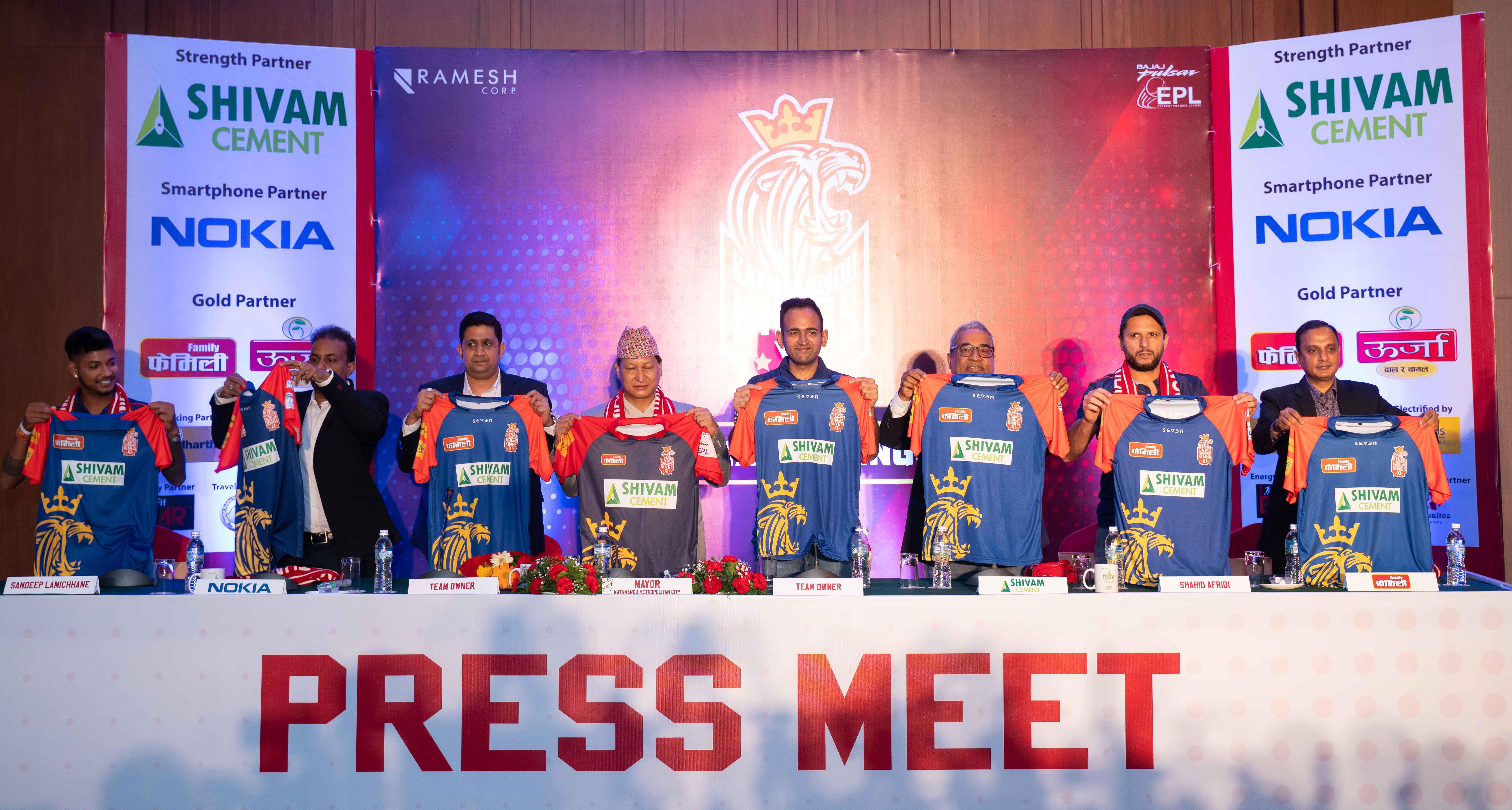'काठमाडौँ किङ्गस् ११' द्वारा चौथो संस्करणको  एभरेष्ट प्रिमियर लिगको लागिआफ्नो टीम घोषणा